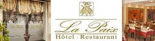 La Paix hôtel-restaurant Logis de France